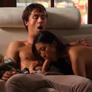 Sharon Lee - ázsiai romantika spermabelövéssel