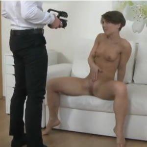 Sportos cseh lány kap spermafröccsöt